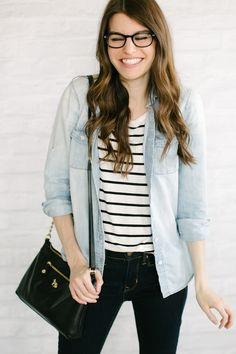 chambray   stripes -- i already have all these pieces