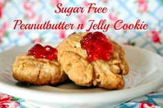 Sugar free Peanut Butter and Jelly Cookie recipe: Sponsored Post