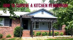 How to Survive a Renovation - Kitchen and/or Whole House - a few quick tips on how to save yourself time and money while living through a renovation - Sophisticated Rust