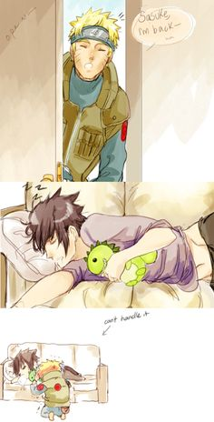 Awww this is adorable! And o can just imagine how Naruto says this. Just awwww!