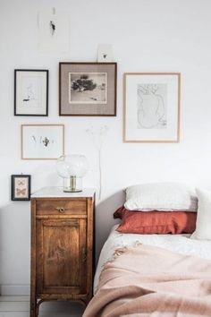 blush, terracotta and rustic wood accents.