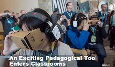 Con l'evoluzione della tencologia VR si possono abbattere le barriere delle aule nella didattica.  http://virtualmentis.altervista.org/