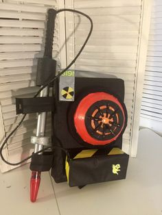 A personal favorite from my Etsy shop https://www.etsy.com/listing/475468675/2016-ghostbusters-proton-pack