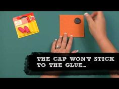 How To: Craft Using a Hot Glue Finger Cap #MichaelsStores
