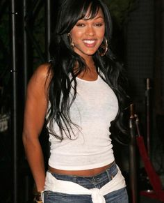 Beautiful Gorgeous, Beautiful Black Women, Beautiful People, Hottest Female Celebrities, Cute Celebrities, Celebs, Meghan Good, 1990 Style, Cool Short Hairstyles