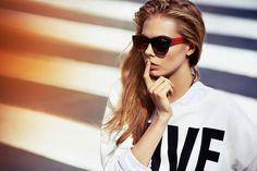 Cara Delevingne Cool Glasses