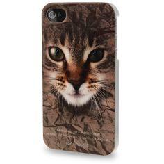 """Coque Plastique Imprimé """"Chat"""" iPhone 4 & 4S - (3)"""