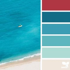 today's inspiration image for { color sea } is by @andrea_sopranzi ... thank you, Andrea, for another fantastic #SeedsColor image share!