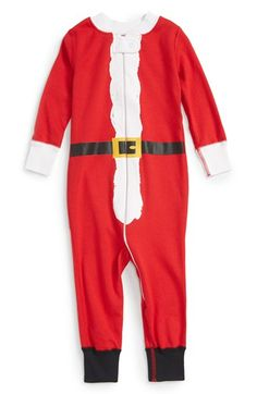 Hanna Andersson Organic Cotton Fitted One-Piece Pajamas (Baby Boys) available at #Nordstrom