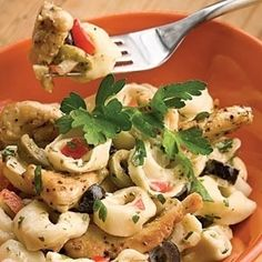 Easy Pasta Salad Recipes | Summer Tortellini Salad | SouthernLiving.com recipes