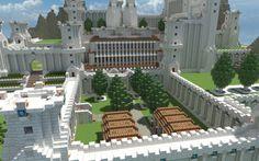 Castillo de Luna Minecraft Castle