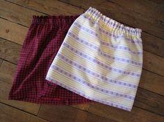 Simple Skirt DIY  #DIYsewing