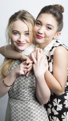 Sabrina Carpenter and Rowan Blanchard <3 they are both so beautiful and inspiring! We need more celbs like them.
