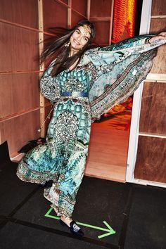 Sonny Vandevelde - Camilla Week End Edition Fashion Show Sydney Backstage Sydney Fashion Week, Stage Outfits, Camilla, Backstage, Catwalk, Caribbean, Fashion Show, Clock, Turquoise