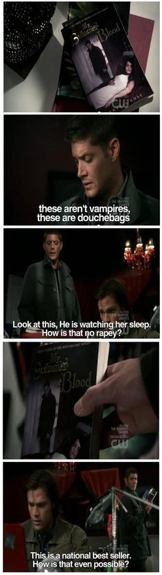 'Subtle' Twilight reference in Supernatural…