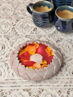 Lotus Soapstone Bowl - 6in