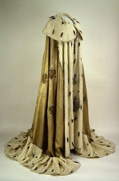 Maria Feodorovna Empress consort of All the Russias (26 November 1847 – 13 October 1928) Coronation Robe - 15 May 1883