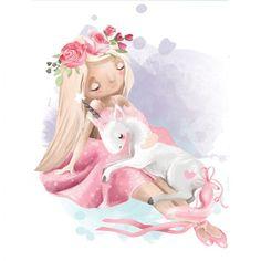 Cute Doodle Art, Cute Doodles, Girly Drawings, Cute Animal Drawings, Cartoon Elephant, Baby Illustration, Watercolor Lettering, Love Wall Art, Cute Girl Wallpaper