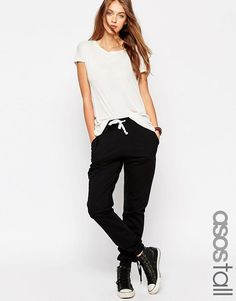 ASOS Tall   ASOS TALL Lightweight Joggers with Contrast Tie