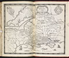 Map of Thomas Hardy's Wessex - The British Library