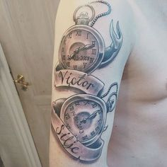 Pin for Later: 19 Tattoos Dads Got to Permanently Display Love For Their Kids Time of Birth