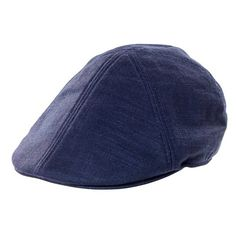 Men's Goorin Brothers 'steve B' Driving Cap (51 CAD) ❤ liked on Polyvore featuring men's fashion, men's accessories, men's hats, blue, mens fitted caps, mens caps and hats, mens hats and mens blue fedora hat