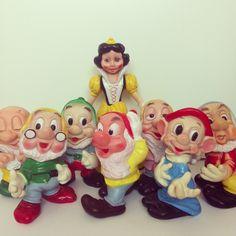 Vintage rubber toys. Ledraplastic 1962
