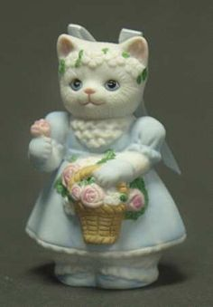 Schmid Kitty Cucumber Frilly Flower Girl - Boxed