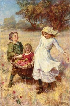 View A heavy load by Frederick Morgan on artnet. Browse upcoming and past auction lots by Frederick Morgan. City Art, Image Fruit, Image Halloween, Morgan, Image Nature, Country Scenes, Beautiful Paintings, Online Art, Art Pictures