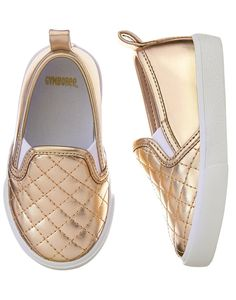 Gymboree Girls Metallic Slip On Shoes Sneaker NEW Tags Blue Pink Gold Plum Pony
