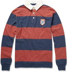 Striped Cotton Rugby Top