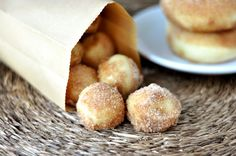Baked Doughnuts- yummy and relatively easy baked donuts. I've never made a yeast donut and they turned out great. If I can do it, anyone can!