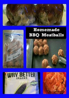 GF Homemade BBQ Meatballs