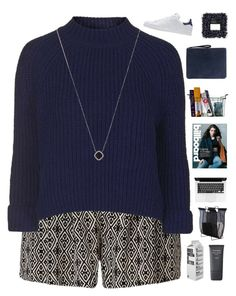 """""""Judy"""" by joyce55directioner ❤ liked on Polyvore featuring Topshop, Woodnotes, Neutrogena, Ela, adidas Originals, Monique Péan, women's clothing, women's fashion, women and female"""