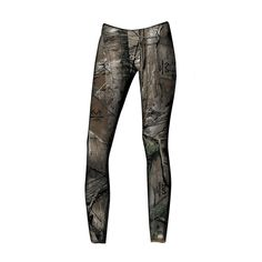 These pull on leggings will make a great addition to your camo wardrobe! 95% cotton/5% Spandex in Realtree Xtra camo.