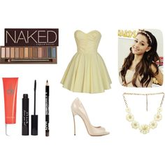 """""""Ariana Grande Style"""" by marianalg on Polyvore"""