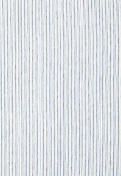 """Schumacher   MacKay Linen Stripe Sky Fabric SKU - 65993 Repeat - Stripe Width - 54"""" Horizontal Repeat - 0.625"""" Vertical Repeat - 0"""" Fabric Content - 98% Linen / 2% Cotton Country of Finish - India This product is featured in Sea Island   Stripes, BK760127212."""