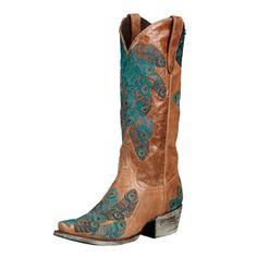 Lane Boots Women's 'Tail Feather' Cowboy Boots
