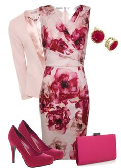 """Wrap dress"" by pollydickson on Polyvore"
