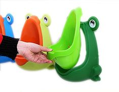 Baby Toilet Training Children Potty Urinal Pee Trainer For Boys w Aiming Target Potty Training Urinal, Potty Training Books, Toilet Training, Best Potty, Baby Toilet, Kids Potty, Cute Frogs, Target, Children