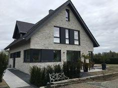 Fassade Grau verblender wasserstrich verblender k444 wdf klinker fassade