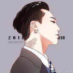 Daesung, Vip Bigbang, G Dragon Top, Dragon Art, Anime Art Girl, Anime Guys, Jiyong, Bigbang Wallpapers, Bigbang G Dragon
