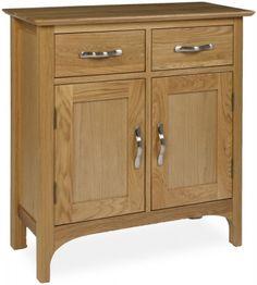 provence oak hall cupboard