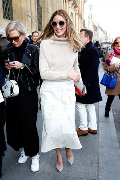 fall 2015 trend white street style - Google Search