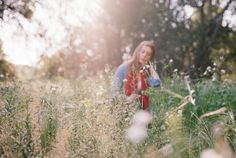Film Photography, Fine Art Photography, Portrait PhotographyApril 2, 2015 Spring Meadow on Portra 400 By Kim Peterson