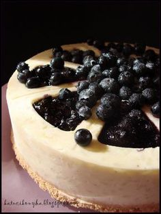 Katucikonyha: Áfonyás rizstorta Zila formában Y Recipe, Rustic Christmas, How To Make Cake, Fondant, Cheesecake, Deserts, Food And Drink, Sweets, Baking