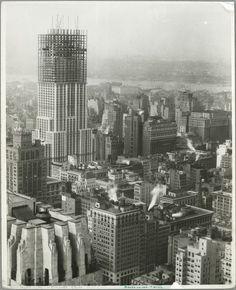 Así fue la construcción del Empire State Building