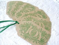 Christmas Gift Tags Large Christmas Tags by HolidayImaginations
