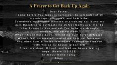 A Prayer for When You Need to Get Back Up Again {#MomentsofHope Link-Up} - Lori Schumaker