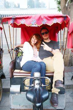 Safety First Chris Pratt And Anna Faris Strap Their Son